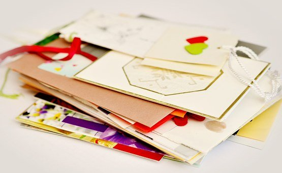 Letters, Paper, Colorful, Post, Stack, Cards, Leave