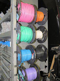 Wire, Rack, Electrical, Construction, Stranded, Van