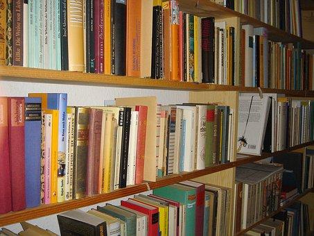 Education, Book, German, Books, Learn, Read, Book Shelf