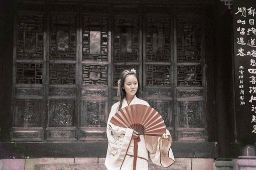 China, Antiquity, Girls, Tone Exercises, Asia, Clothing