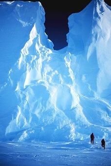Antarctica, Snow, Ice, Icy, Men, Landscape, Chunks
