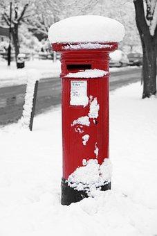 Box, Britain, British, England, English, Ice, Letter