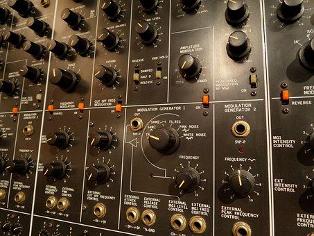 Synthetizer, Analog, Moog, Museum