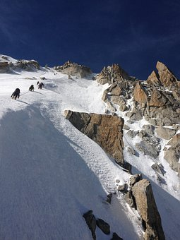 Mountain, Snow, Aiguille Du Chardonnet, Mont Blanc