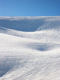 Mountain, Ski, Winter, France, Alpe Du Grand Serre