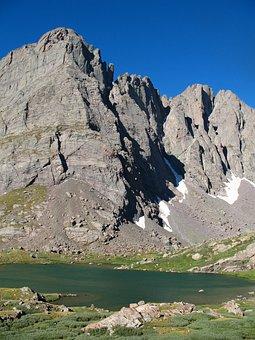 Landscape, Mountain, Nature, Usa, Stream, Mountains