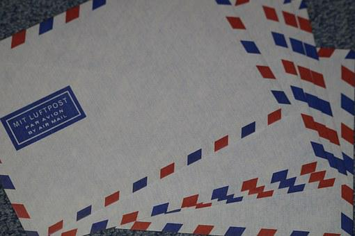 Letters, Air Letter, Air Mail, Envelopes, Post, Paper