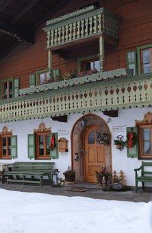 Reit Im Winkl, Germany, Building, Shop, Store