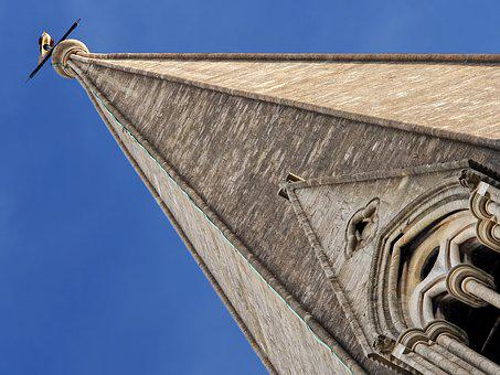 Church, Spire, Tower, Tall, Building, Architecture