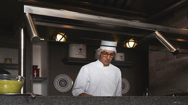 Chef, Kitchen, Cook, Restaurant, Man, Preparation, Work
