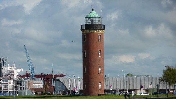 Hamburg Lighthouse, Cuxhaven, Weltschifffahrtsweg