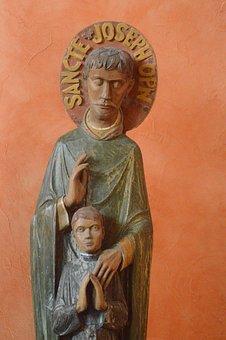 Statue, Saint, Man, Joseph, Husband, Saint Jospeh