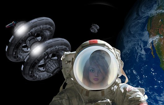Space Station, Space, Low Earth Orbit, Astronaut