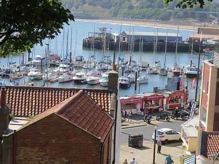 Harbour, Boats, Masts, Ocean, Wharf, Marina, Boat Yard