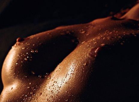 Breast, Nude, Erotic, Wet, Woman, Sexy, Sensual, Nudity
