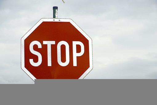 Stop, Sign, Traffic, Road, Attention, Red, Symbol