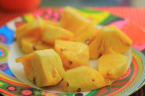 Pineapple, Juice, Fruit, Appetizer, Dessert, Healthy