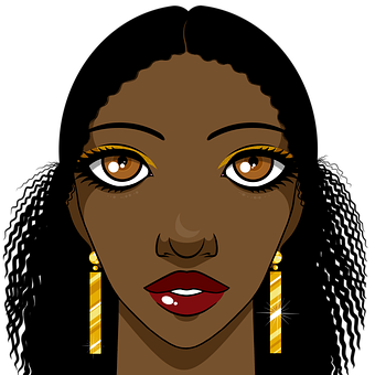 Woman, Beauty, Afro-american, Africa, African, Black
