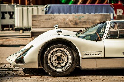 Porsche, Car, White Car, Race Car, Luxury Car