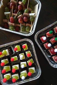 Brownies, Baked, Chocolate, Desserts, Cake, Sweet, Food