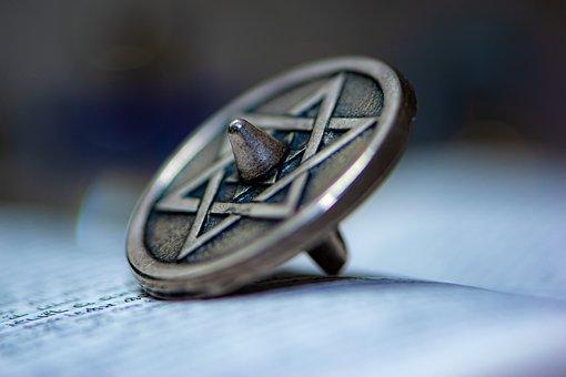 Dreidel, Star Of David, Chanukah, Hanukkah, Judaism