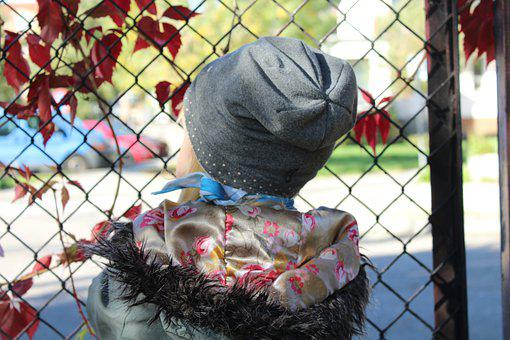 Child, Fencing, Wait, Kid, Toddler, Childhood, Lonely