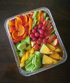 Fruit, Fruit Slices, Oranges, Healthy, Grapes, Lemon