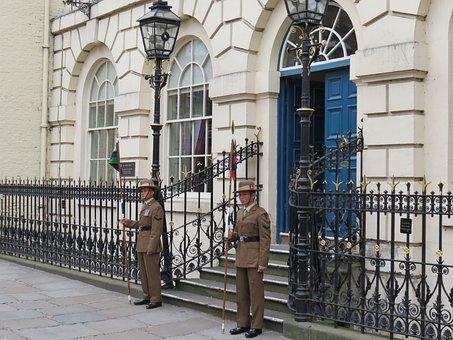 Soldiers, Gurkha, Ceremonial, On Parade, Uniform