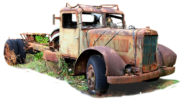 Truck, Rusty, Old, Vehicle, Antique, Retro, Abandoned