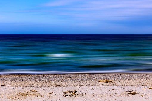 Beach, Strand, Sea, Sand, Ocean, Water, Coast, Sky