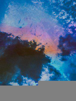 Abstract, Beauty, Nature, Watercolour, Sky, Design
