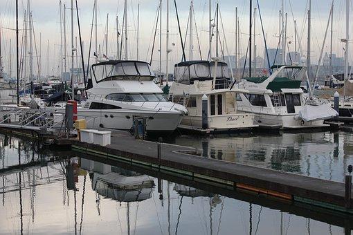Marina, Boats, Yachts, Boating, Yachting, Wharf, Pier