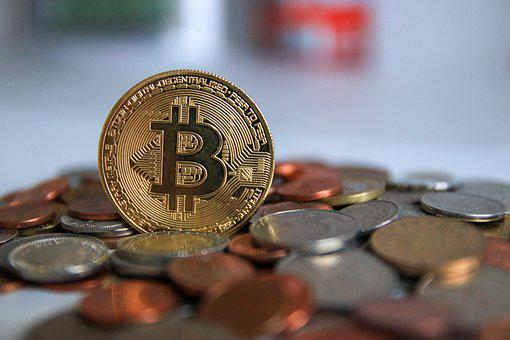 Bitcoin, Cryptocurrency, Coin, Money, Currency, Finance