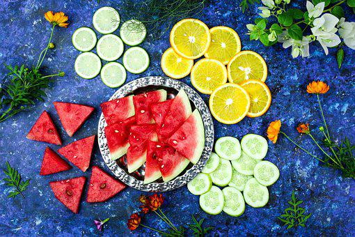 Fresh, Healthy, Background, Nutrition, Orange, Food