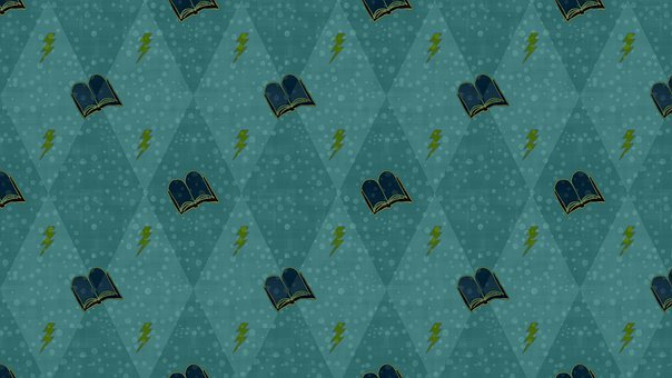 Blue, Turquoise, Dark, Mysterious, Magical, Book