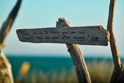 Sign, Warning, Direction, Sea, Quote, Beach, Panel