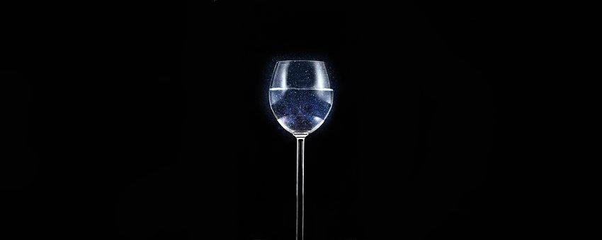 Glass, Wine, Drink, Alcohol, Isolated, Earth, Crystal