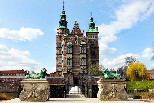 Castle, Copenhagen, Denmark, Architecture, Rosenborg