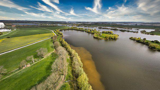Landscape, Panorama, Aerial View, Bird's Eye View