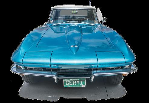 Corvette 1967, Car, Vintage, Sports Car, Antique