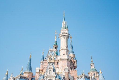 Disney, Shanghai, Castle, Disneyland Shanghai