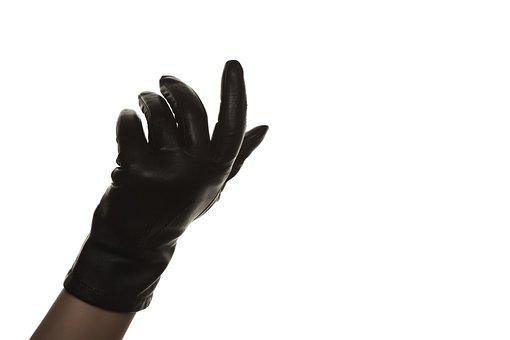 Glove, Hand, Fingers, Leather, Leather Glove