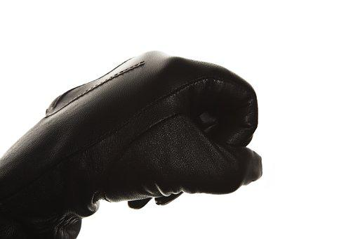 Glove, Hand, Clenched, Fingers, Leather, Leather Glove