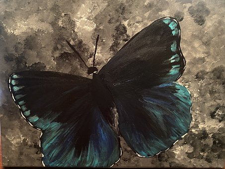 Butterfly, Insect, Painting, Acrylic, Artistic
