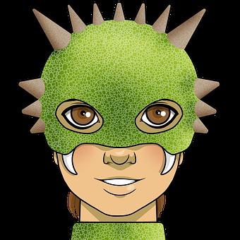 Child, Dragon, Cosplay, Dinosaur, Horns, Kid, Boy
