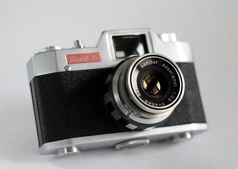 Vintage, Camera, Retro, Lens, Analog, Old, Equipment