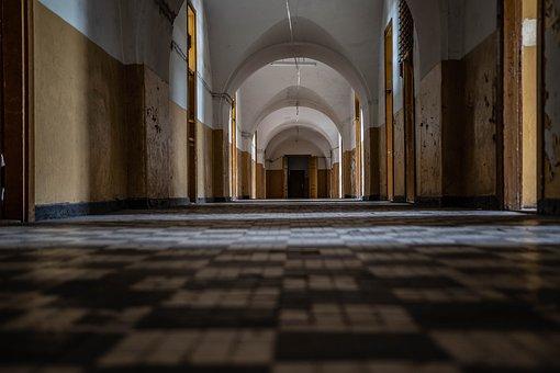 Fortress, Abandoned, Military, Hall, Hallway, Modlin