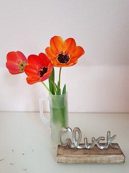 Tulips, Flowers, Vase, Still Life, Spring, Bloom, Plant
