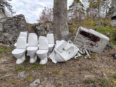 Toastolar, Nature, Loo, Renovation Of Camping Toilet