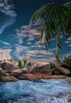 Waterway, Sea, Ocean, Water, Coast, Sky, Clouds